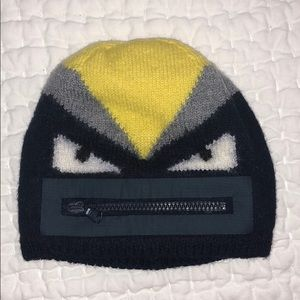 317820b043a Authentic Fendi monster hat size I